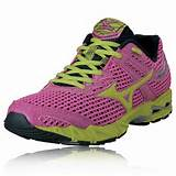 Mizuno Lady Wave Precision 13 Running Shoes - 47% Off | SportsShoes ...