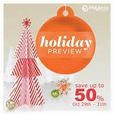 Payless Shoesource Holiday Preview Promotion – Storewide! ( 29-Oct ...