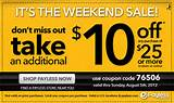 Payless Shoes - $10 off $25 - in-store or online - thru Sunday, 08/05