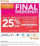 Payless Shoes Coupon Deals Through March 31 | Free Printable Coupons ...