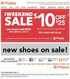 Payless Shoes: $10 off $25 Printable Coupon | Coupons