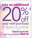 Day by Day Savings: 20% off Payless Coupon