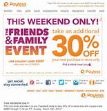 Payless Shoes: 30% off Printable Coupon | Payless Printable Coupons