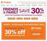 Payless Shoes: 30% off Printable Coupon - Save ... | Shoes Printable ...