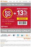 Payless Shoes: 13% off Printable Coupon