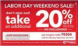 Payless Shoes Labor Day Sale! Take 20% off Everything! No Exclusions ...