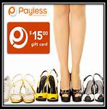 Only $7.50 for a $15 Payless Shoe Source Gift Card that is valid ...