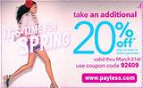 Payless Shoe Source Coupon | The Printable Coupons