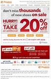 Payless Shoes Source 20% Off Coupon Today Only | Free Printable ...