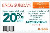More Coupons for Payless Shoes