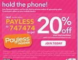 Payless Shoes – 20% off with Mobile Coupon Ms. Couponista ...