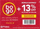 Payless Shoes Printable Coupon: Save An Extra 13% On Regular-Price ...