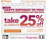 coupons for payless shoesource