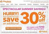 ... 50% with these current Payless Shoesource coupons for September 2013