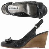 Shop payless womens krush bow wedge from American Eagle in our fashion ...