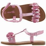 Payless Smartfit Girls Sofie Flower T Strap Sandals S | Mens Shoes ...