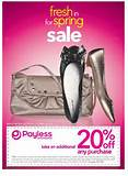 Payless Shoes Canada Printable Coupon Save 20% » payless