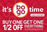 Payless ShoeSource Canada – Buy One, Get One Half Off