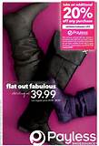 Payless Shoes Canada: Take 20% Off Printable Coupon (Valid Oct 5- Nov ...