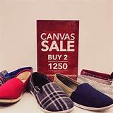 many shoes! Buy two canvas shoes for only P1,250 at the Payless Shoe ...