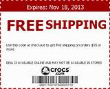 crocs coupon code image search results