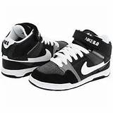 Nike Action Kids Mogan Mid 2 Jr Zappos Exclusive! Boys Shoes - Black ...