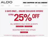 Aldo shoes: Extra 25% off sale shoes & Boots + Free shipping! Until ...