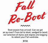 Aldo Shoes coupon deal: Your Fall Re-Boot is Hereon Dailybag.com