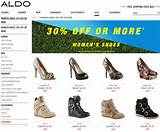Aldo is offering savings of 30% off or more on select Women' Shoes ...
