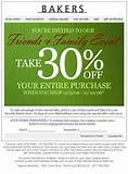 bakers shoes coupon code bakers shoes promotion codes and bakers