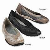 Clarks Leather Flat Shoes / Darebin Privo by Clarks® Perforated Flats ...