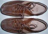 legacy: Clarks Two Tones Brown Leather Shoes Size 8UK(SOLD)
