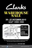 Clarks Malaysia will be having Warehouse Sale 2013 from 25 to 27 ...