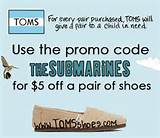 Toms Shoes Coupon Code 10 Off