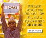 on TOMS merchandise with this great new $5.00 off TOMS coupon code ...