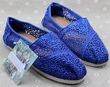 Toms Crochet Shoes Blue Womens Classic,Cheap Crochet Toms Shoes Sale ...