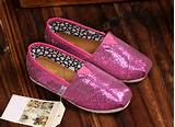 Toms Kids Shoes Fuchsia Tiny Glitters,Buy Kids Toms Glitters Online ...