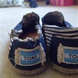 70% off TOMS Shoes - Size 7 Navy striped TOMS Shoes wrecked from Lynzi ...