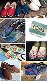 TOMS shoes, Etsy designs