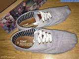 Toms Shoes Grey Cordones For Men - Secondhand For Sale Philippines ...