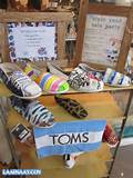 ... TOMS shoes to check out the event, Style your Sole Parties . I took a