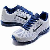 Womens Nike Air Max 2011 Mesh white/blue running shoes for sale
