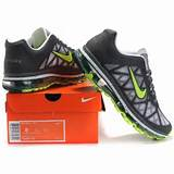 Nike Wmns Air Max 2011 Mesh white/gray-green running shoes sale