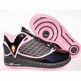 womens air jordan 24 23 af1 black pink on sale women s air jordan 24 ...